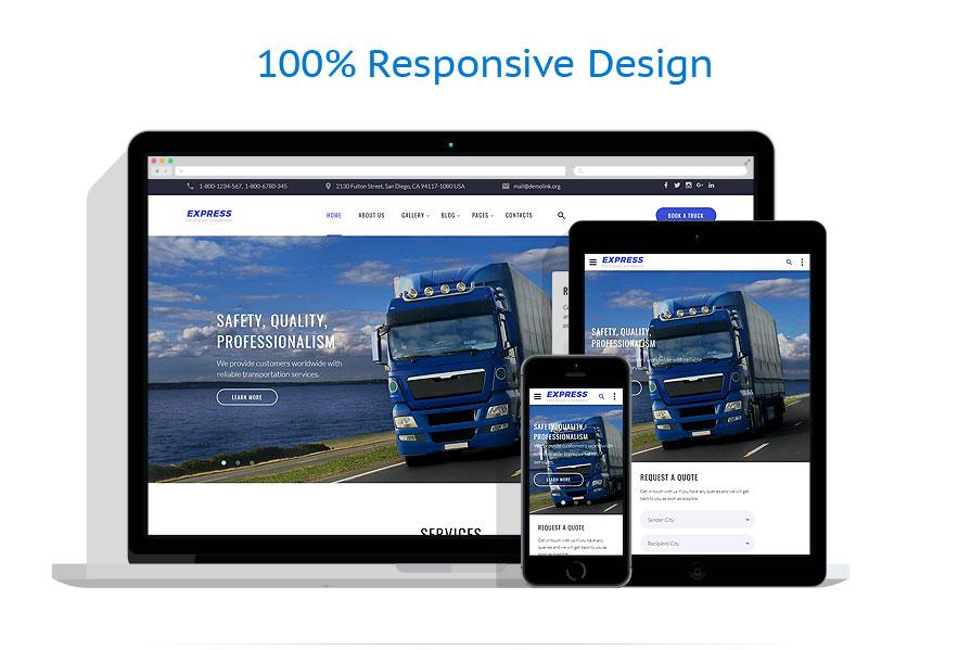 responsive template | Transportation | ID: 3339