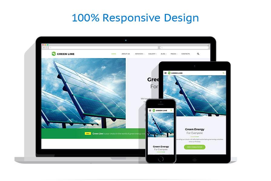 Sablon responsive de | Energie Alternativa | ID: 3340