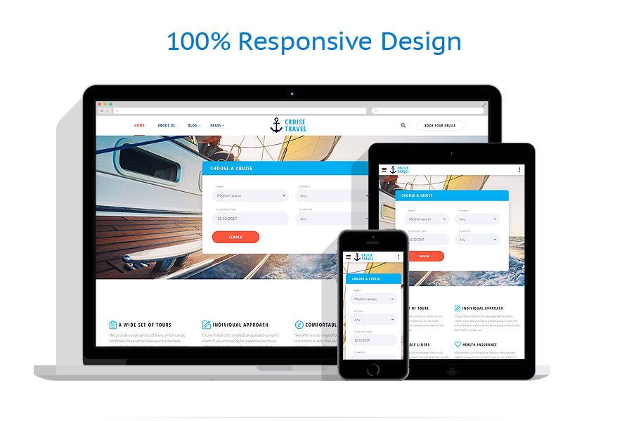 responsive template | Travel | ID: 3342