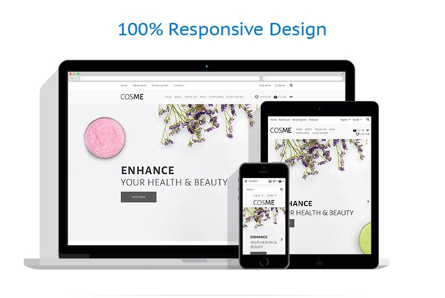 responsive template | Beauty | ID: 3347
