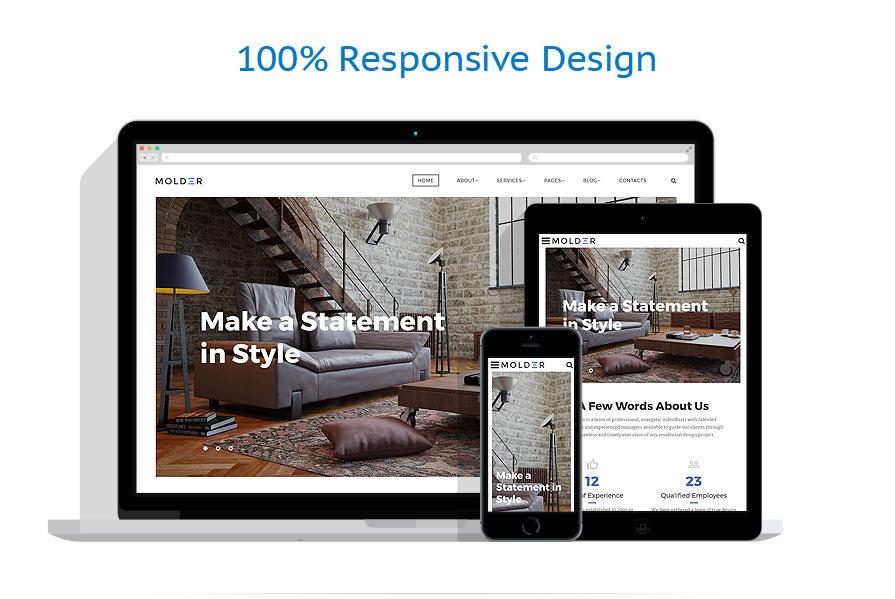 Sablon responsive de | Design Interior & Mobila | ID: 3351