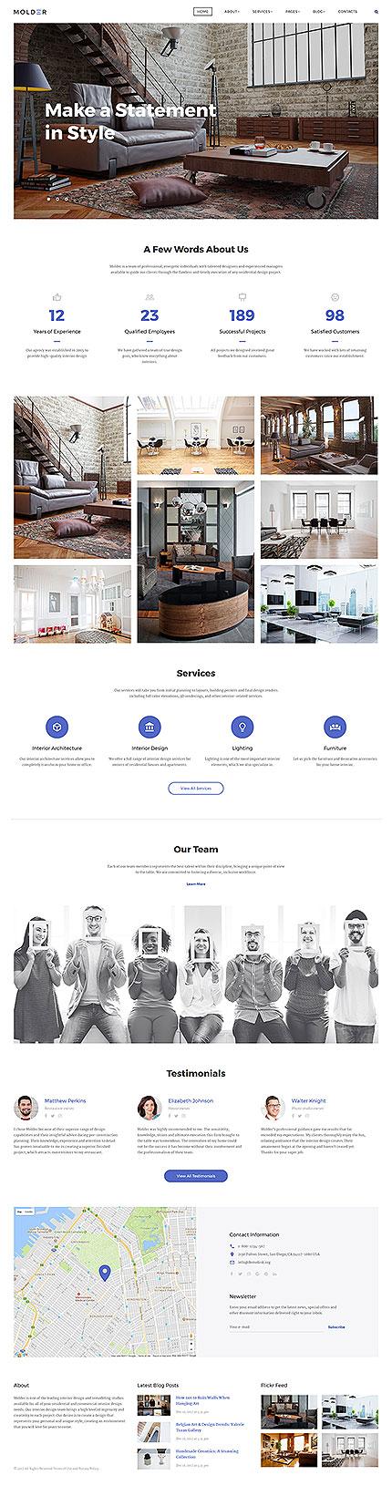 Sablon de   Design Interior & Mobila   ID: 3351