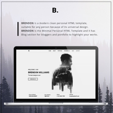 template | Personal pages | ID: 3368