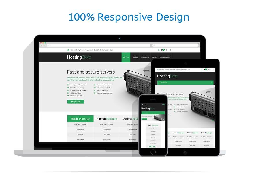 responsive template | Hosting | ID: 356