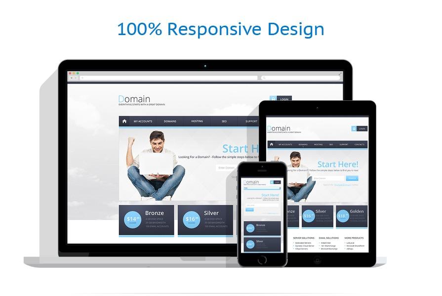 responsive template | Hosting | ID: 370