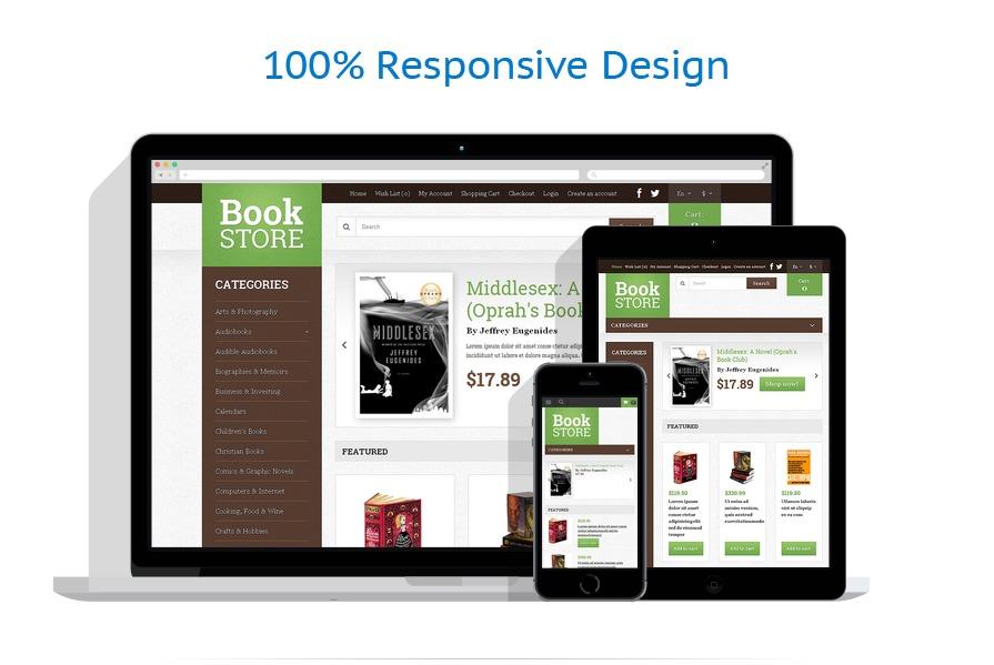 responsive template | Books | ID: 379