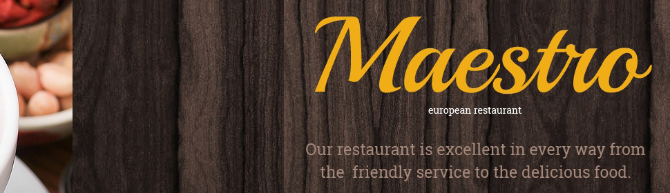 template | Cafe and Restaurant | ID: 383