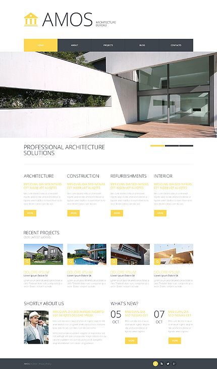 Sablon de | Arhitectura | ID: 41