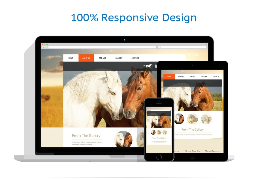 Sabloane responsive de website | Animale | ID: 421