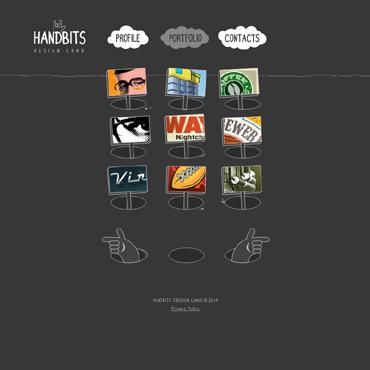 template | Web design | ID: 424