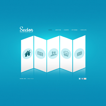 template | Web design | ID: 427