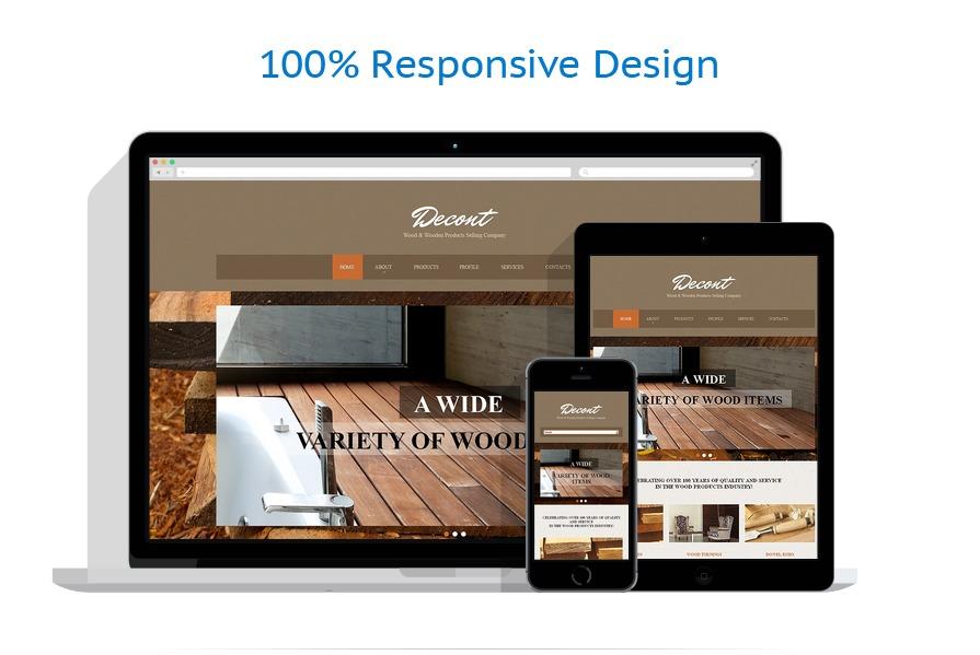 Sablon responsive de | Design Interior & Mobila | ID: 436