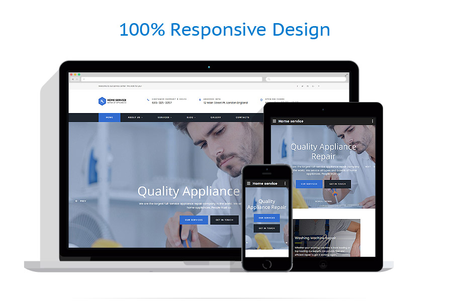 responsive template | Maintenance Services | ID: 4369
