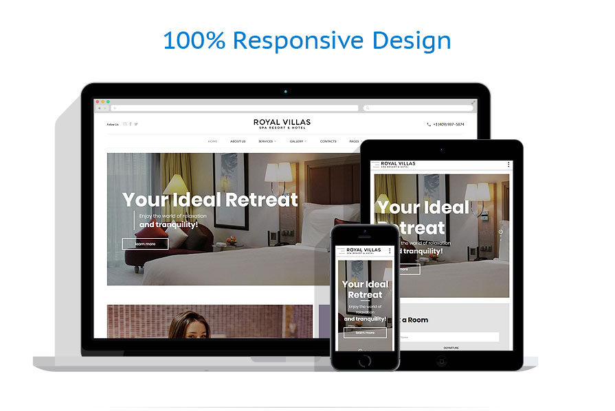 responsive template | Hotels | ID: 4398