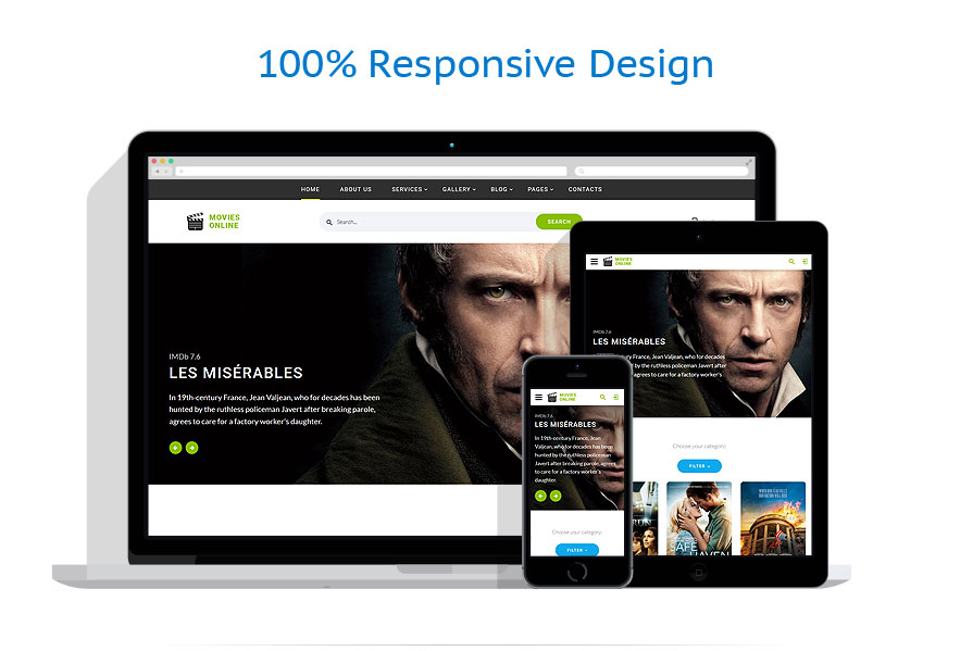 responsive template | Software | ID: 4433