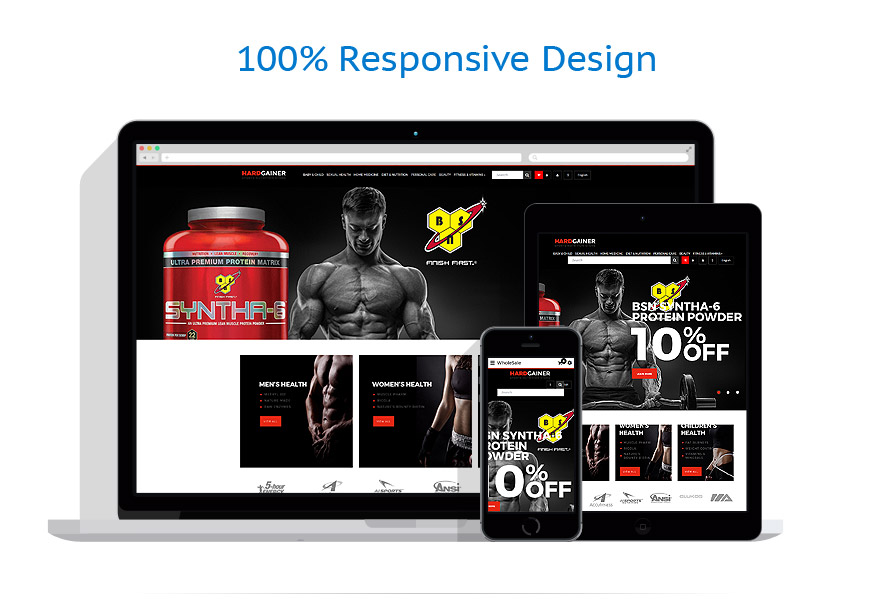 responsive template | Sport | ID: 4434