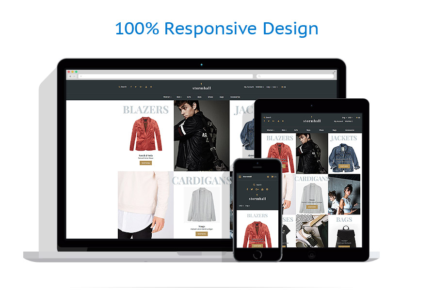 responsive template | Fashion