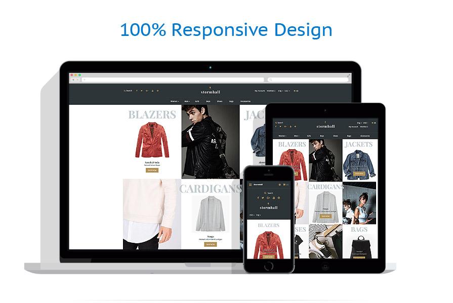 responsive template   Fashion   ID: 4500