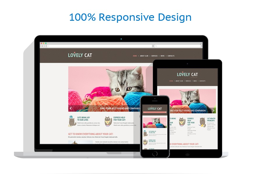 Sabloane responsive de website | Animale | ID: 453