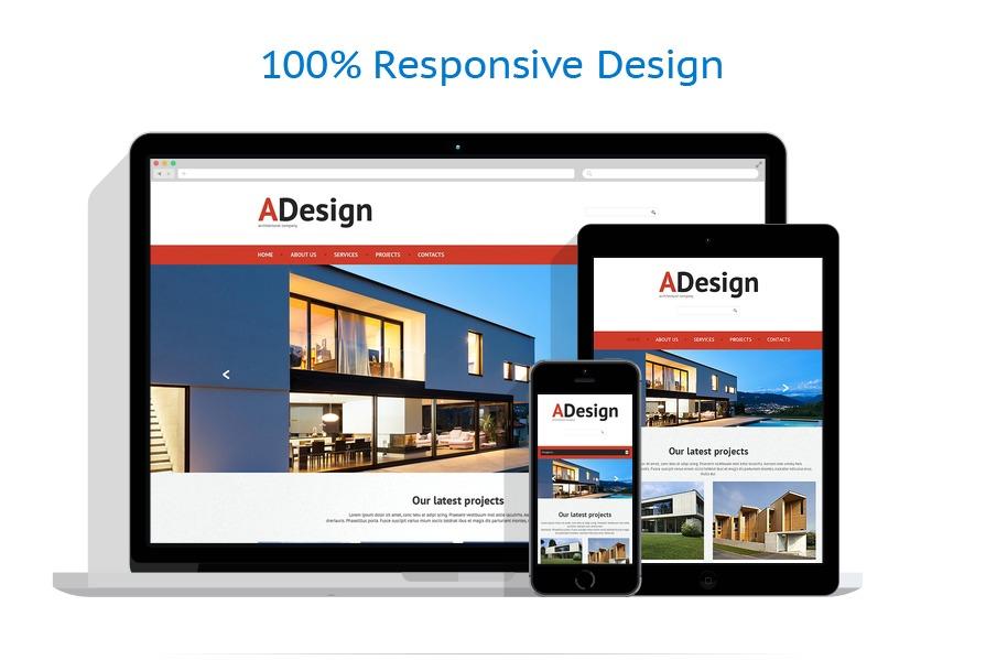 Sablon responsive de | Arhitectura | ID: 454