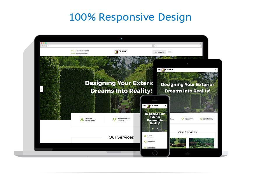 Sablon responsive de   Design Exterior   ID: 4554