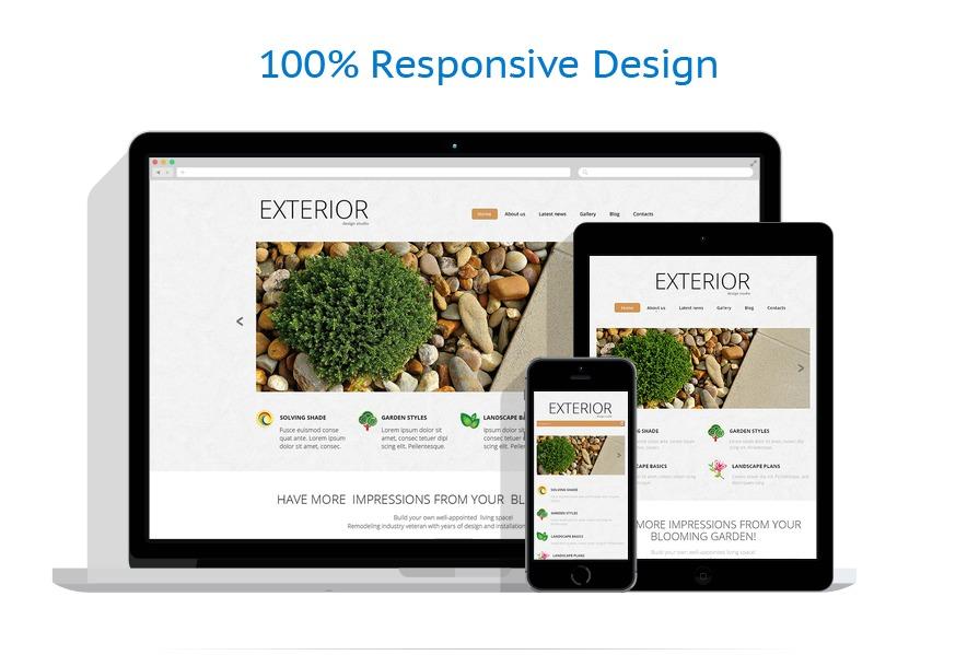 Sablon responsive de | Design Exterior | ID: 457