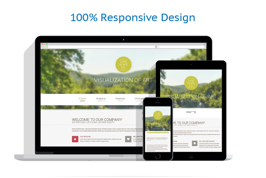 Sablon responsive de | Design Exterior | ID: 462
