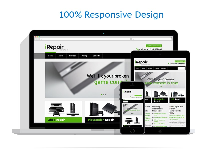 responsive template | Computers