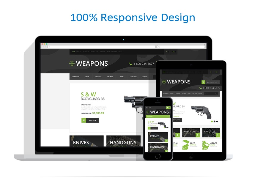 responsive template | Military | ID: 495