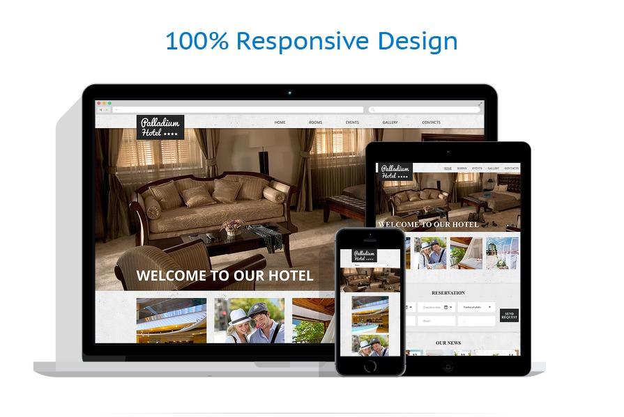 Sablon responsive de | Hoteluri | ID: 523