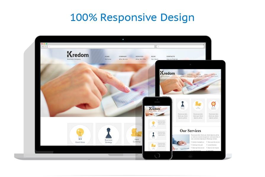 Sablon responsive de | Business | ID: 532