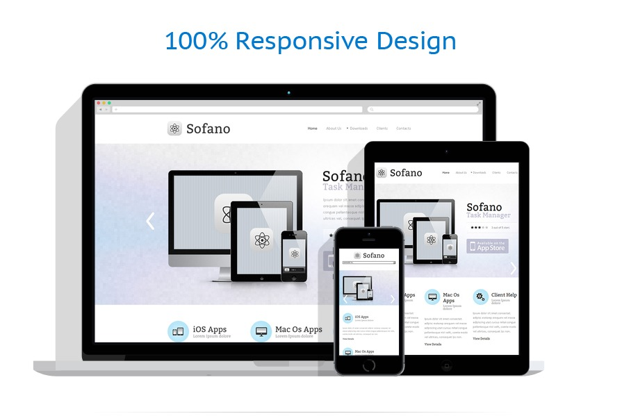 Sabloane responsive de website | Software