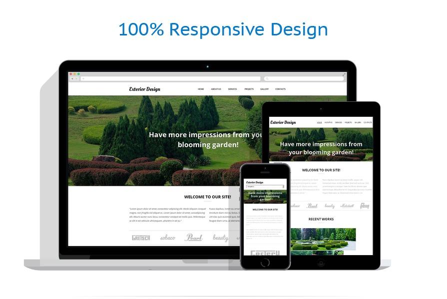 Sablon responsive de | Design Exterior | ID: 584