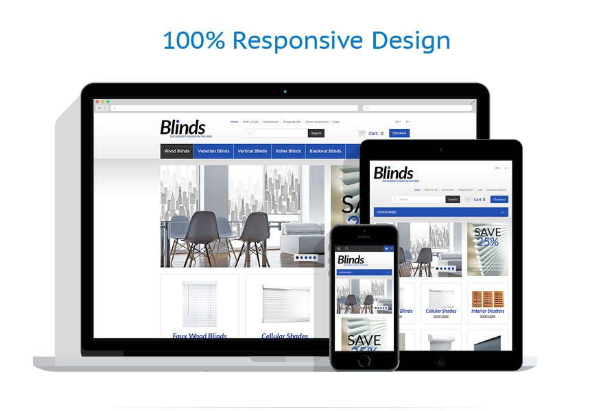 Sablon responsive de | Design Interior & Mobila | ID: 588