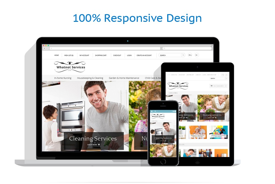 responsive template | Maintenance Services | ID: 589