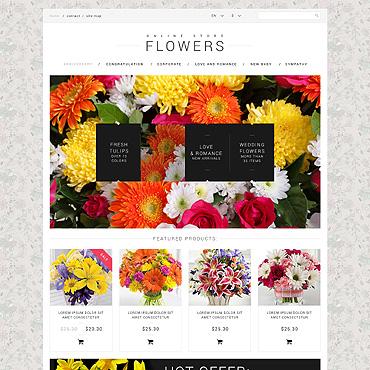 template | Flowers | ID: 608
