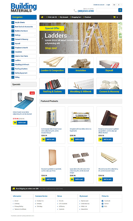 template | Maintenance Services | ID: 609