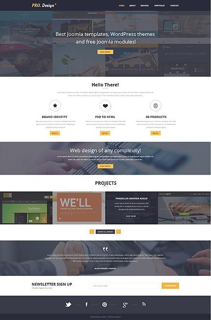 Sablon de | Web design | ID: 627