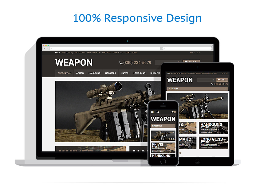 responsive template   Military   ID: 637