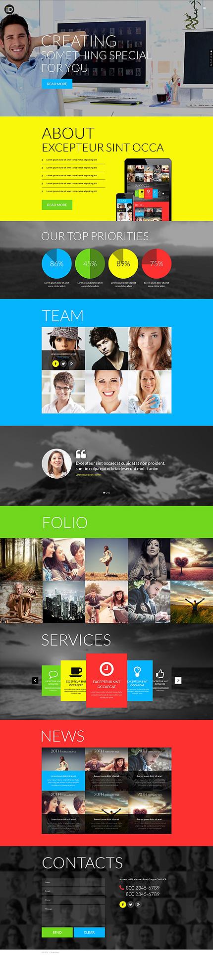 Sablon de | Web design | ID: 674