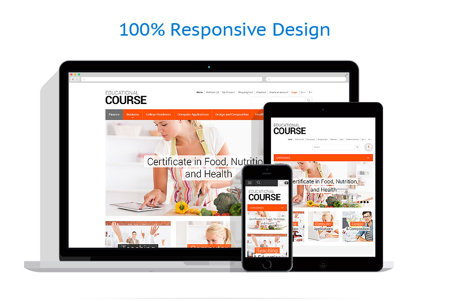 responsive template | Education | ID: 677