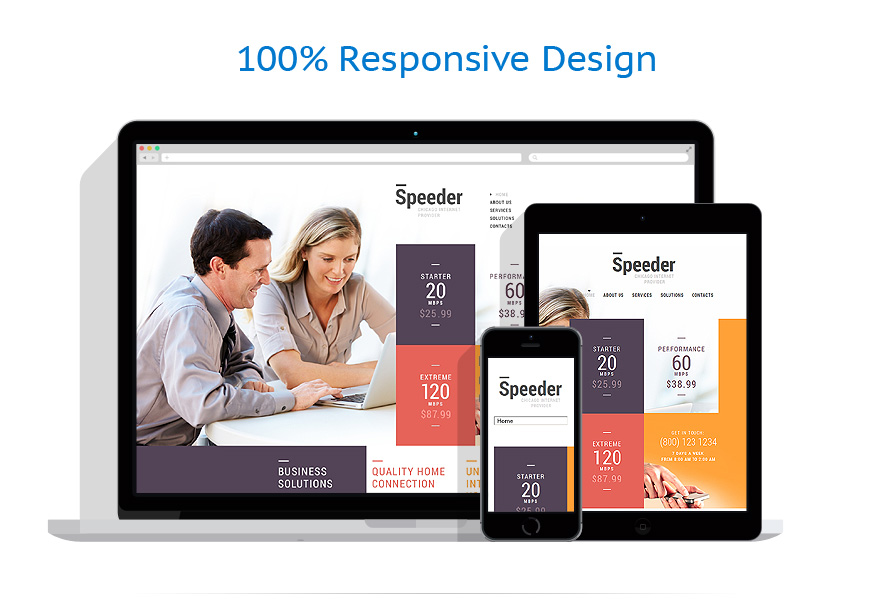 Responsive website templates | Internet