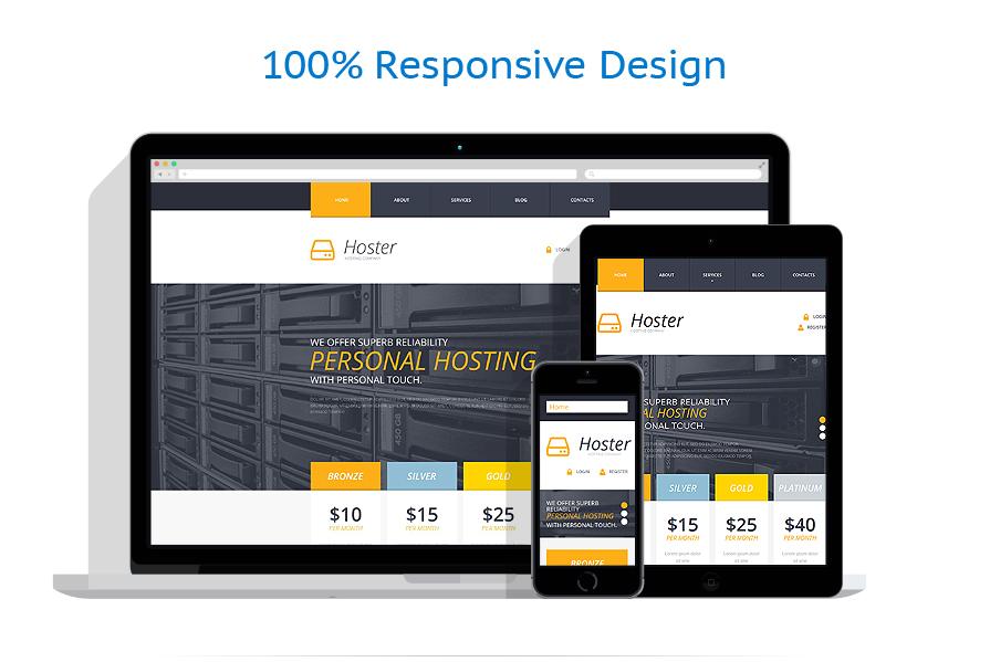 responsive template | Hosting | ID: 761