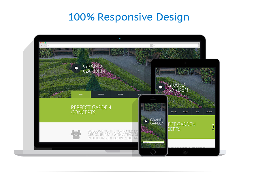 Sablon responsive de | Design Exterior | ID: 762
