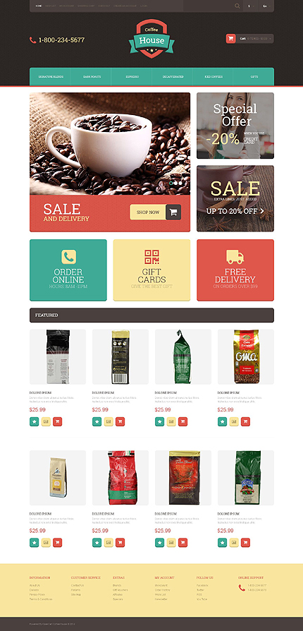template | Cafe and Restaurant | ID: 774