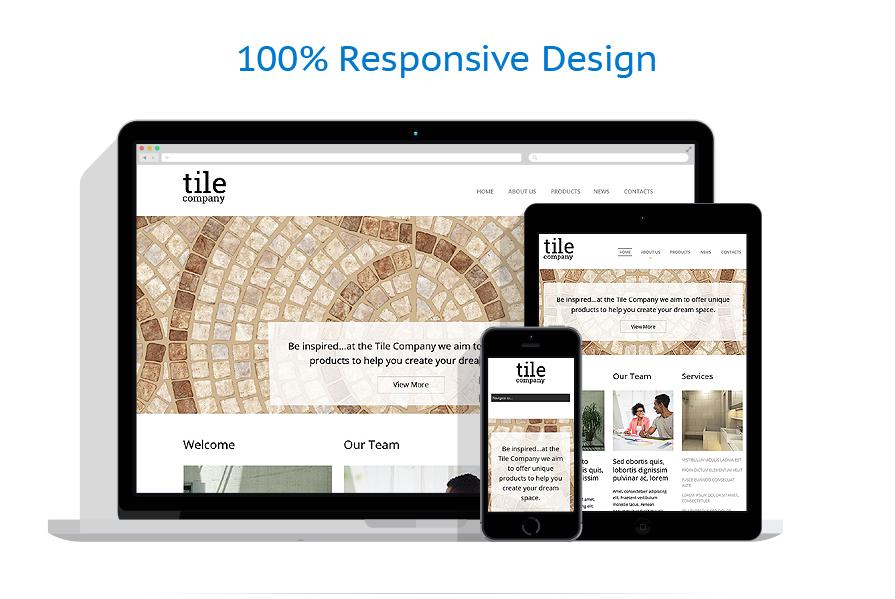 Sablon responsive de | Design Interior & Mobila | ID: 780