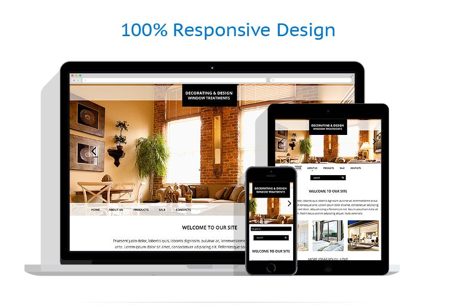 Sablon responsive de | Design Interior & Mobila | ID: 781