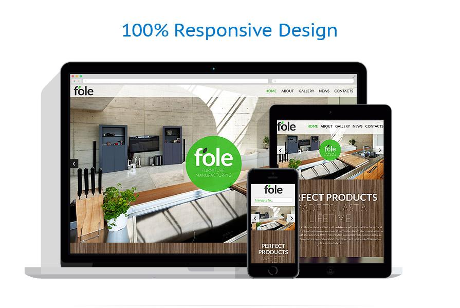 Sablon responsive de | Design Interior & Mobila | ID: 795