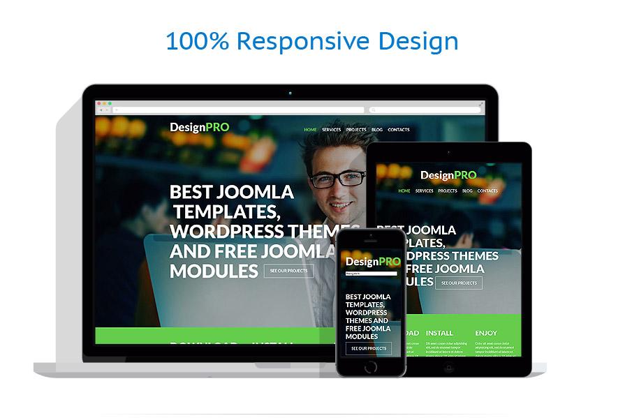 Sablon responsive de   Web design   ID: 796