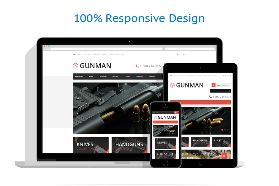 responsive template | Military | ID: 80